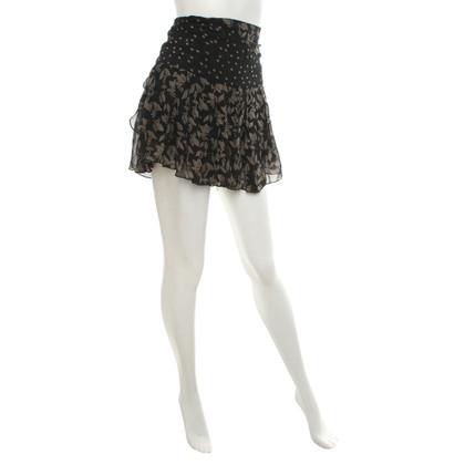 Isabel Marant Etoile Minigonna con motivo