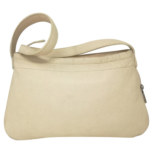 430b9ae0d Furla Handbag Leather in Beige - Second Hand Furla Handbag Leather ...