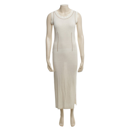 Dolce & Gabbana Langes Kleid in Beige