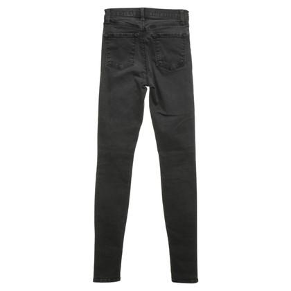 J Brand Skinny jeans in donkergrijs
