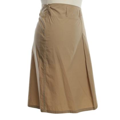 Jil Sander Flared skirt in Beige