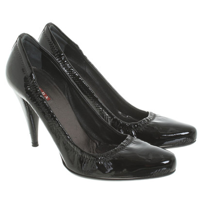 Prada pumps in lakleder