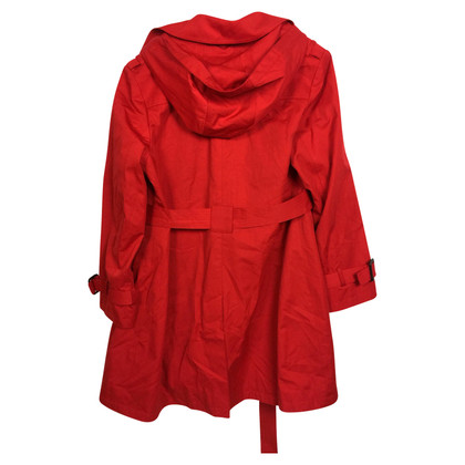 Michael Kors Red Trenchcoat