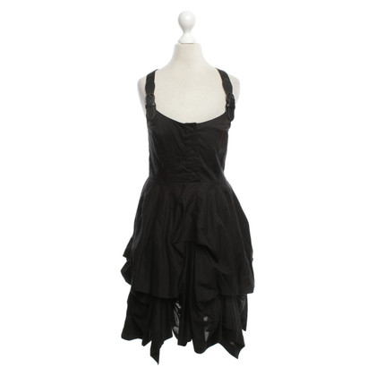 All Saints Kleid in Schwarz