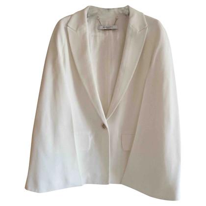 Givenchy Giacca di viscosa bianca