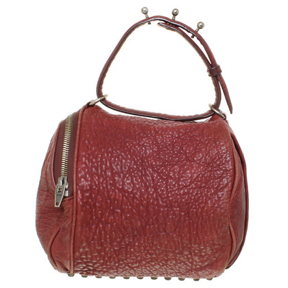 "Alexander Wang ""Rocco Bag"" in red"