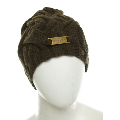 Burberry Knitted hat in green