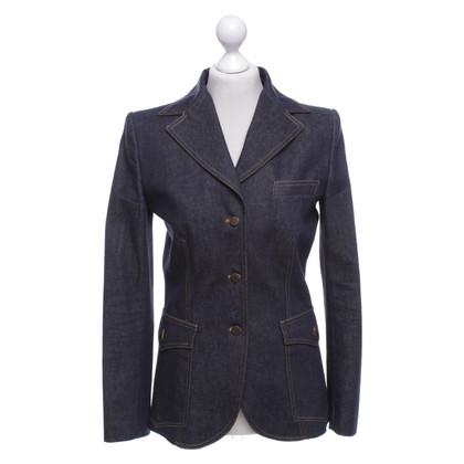 Dolce & Gabbana Giacca sportiva di jeans in blu