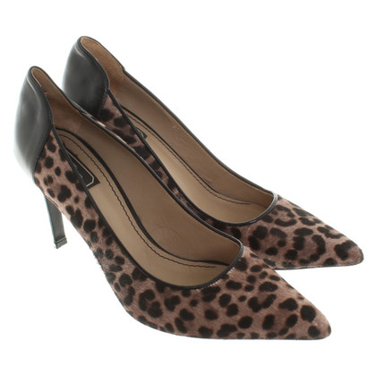 By Malene Birger pumps met animal print