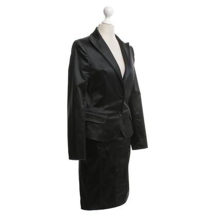 Dolce & Gabbana Satin kostuum in zwart