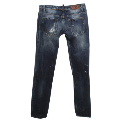 Dsquared2 Blue jeans a Used Look