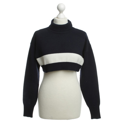 Jil Sander Short sweater in blue