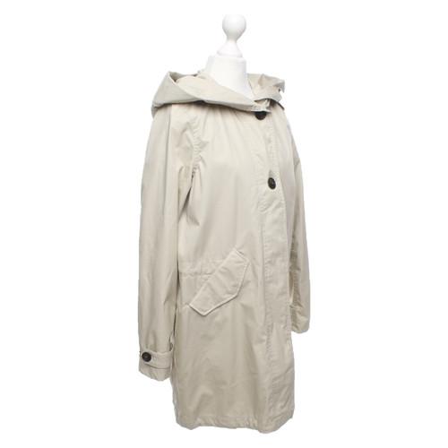 finest selection 91e83 a97dd Woolrich Jacket/Coat Cotton in Beige - Second Hand Woolrich ...