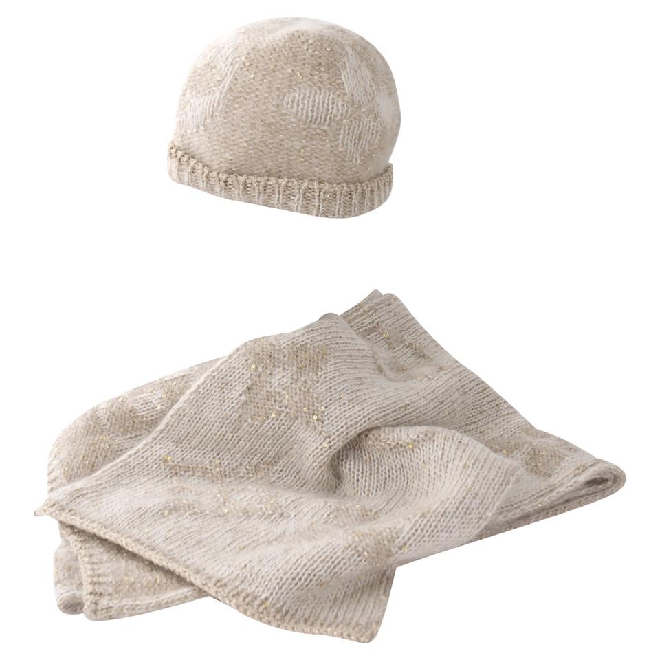 louis vuitton mohair scarf and hat buy second hand louis
