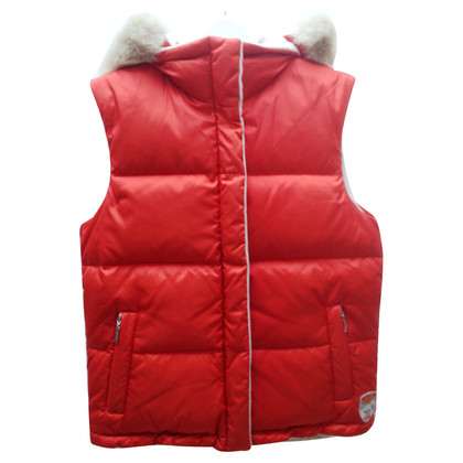 Escada Reversible down vest