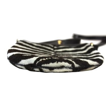 Gucci Borsa nel look zebra