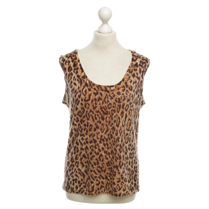 Marc Cain Top con stampa animalier