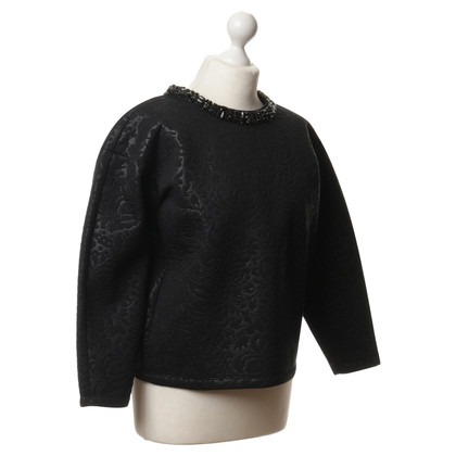 MSGM Scuba-Top in Schwarz