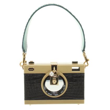 Dolce & Gabbana Handtasche in Kamera-Optik