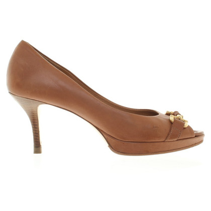 Konstantin Starke Peep-Toes in brown