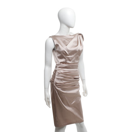 Talbot Runhof Satin cocktail dress