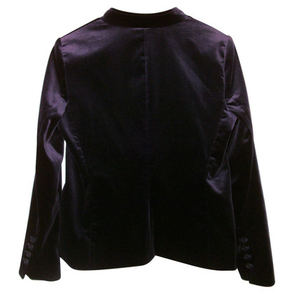Theory Purple velvet Blazer