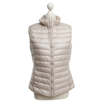 Max Mara Quilted waistcoat in beige
