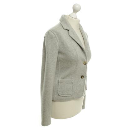 Malo Cashmere blazer in grey