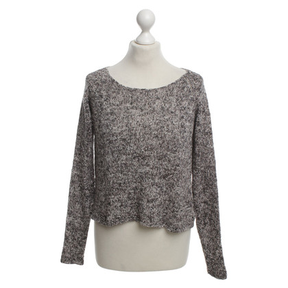 Ganni Knit sweater in shades of gray