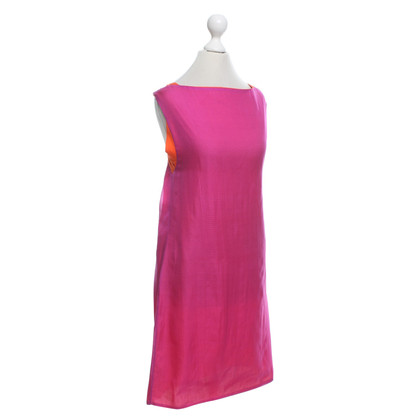 Jil Sander Omkeerbare Dress in Pink / Orange