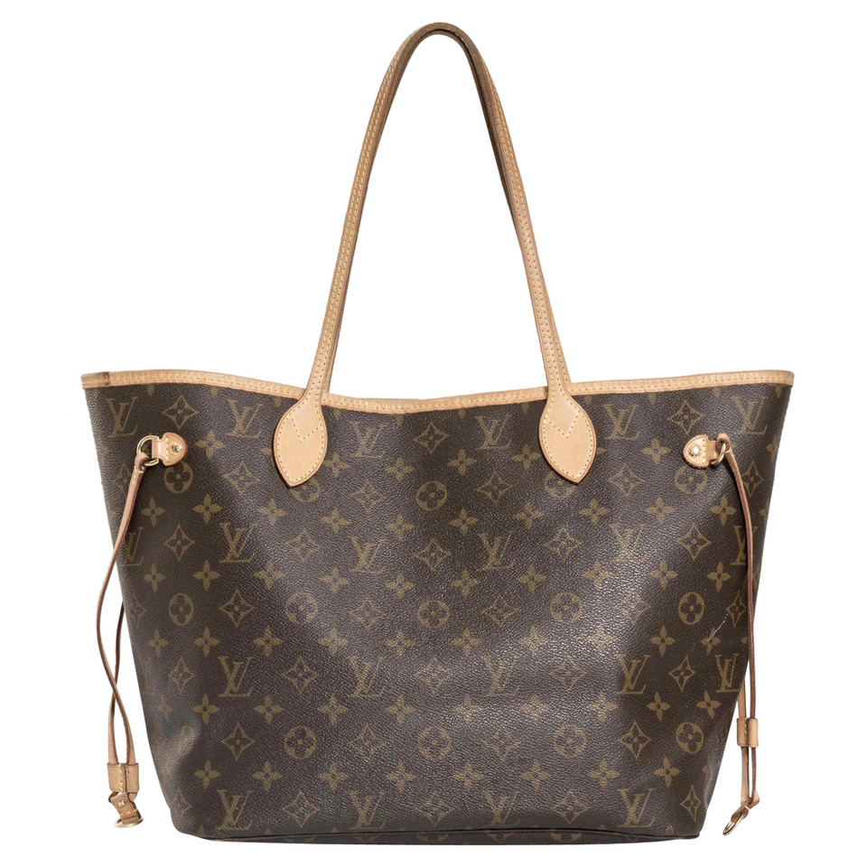 louis vuitton neverfull mm monogram canvas buy second. Black Bedroom Furniture Sets. Home Design Ideas