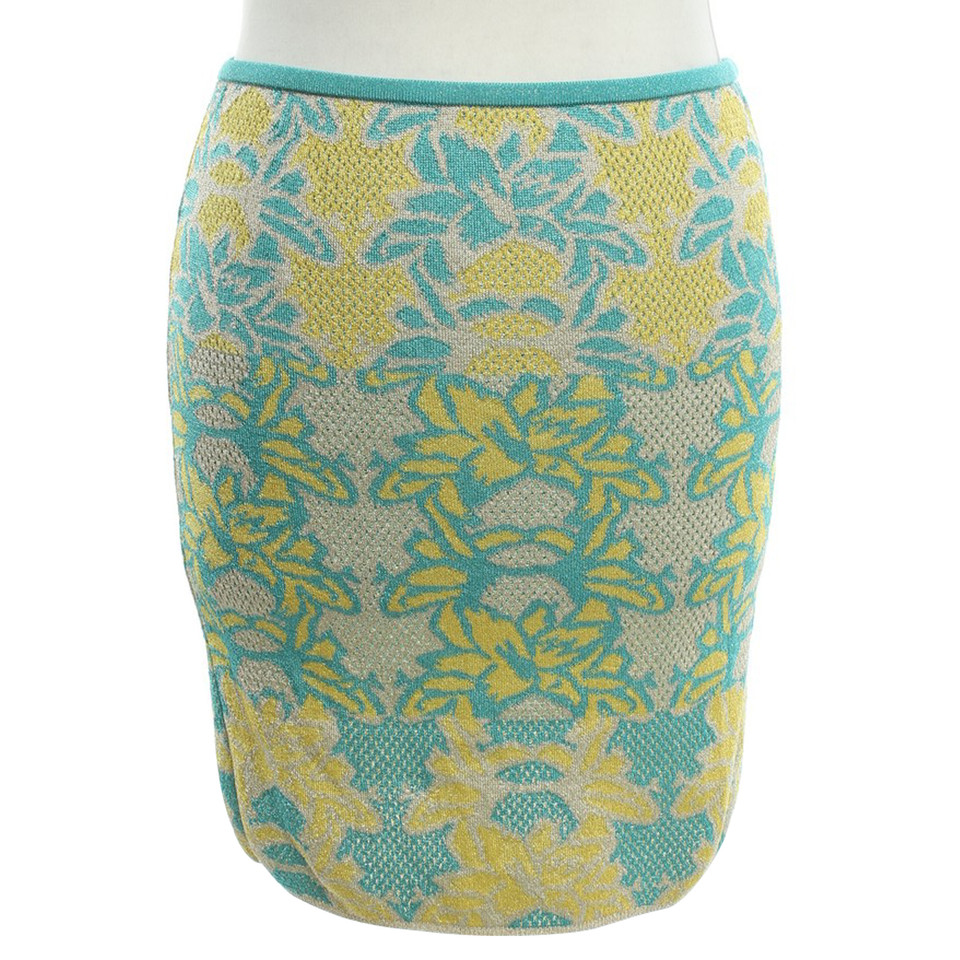Missoni skirt with a floral pattern