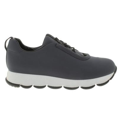 Prada Sneakers in dark smoke blue