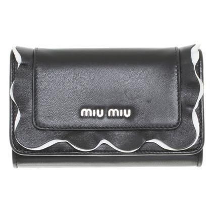 Miu Miu Wallet in black