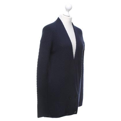 Diane von Furstenberg Vest in donkerblauw