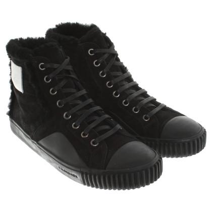 Balenciaga Sneakers mit Lammfell