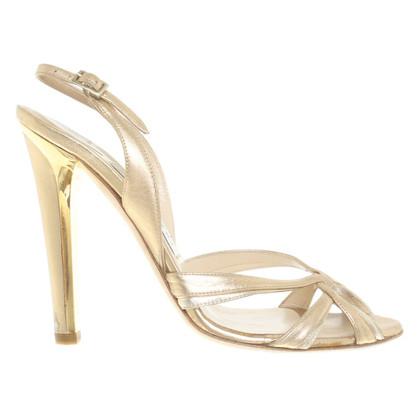 Jimmy Choo Golden sandals
