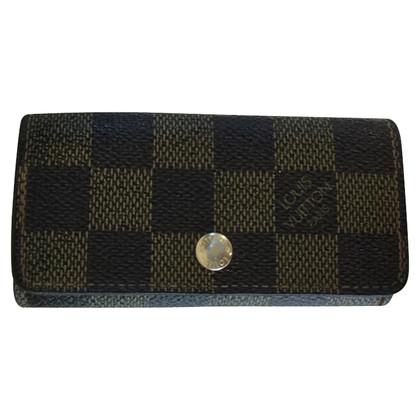 Louis Vuitton key holder from Damier Ebene Canvas
