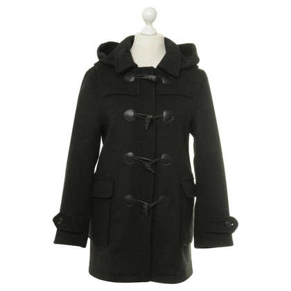 Barbour Dufflecoat in Anthrazit