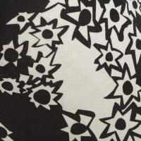 Diane von Furstenberg Abito in seta in bianco / nero