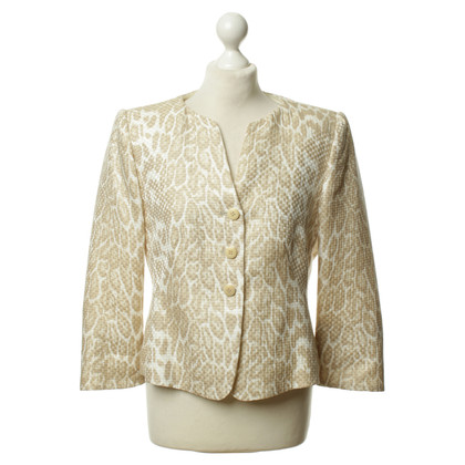 Armani Collezioni Blazer with animal print