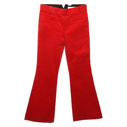 Chloé Flares in red