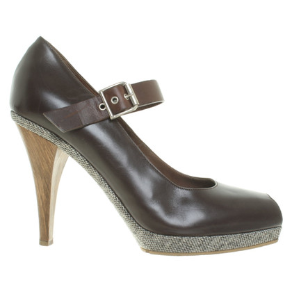 Marni Leather peep toes