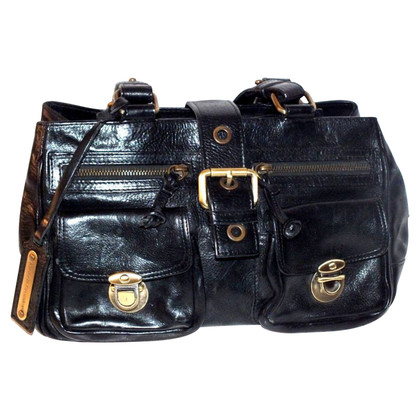 Russell & Bromley Black leather handbag