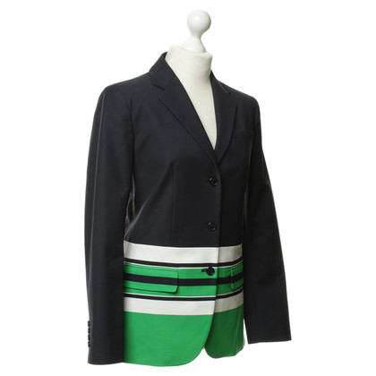 Michael Kors Blazer in Navy Blue with stripes