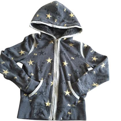 Armani giacca Armani Exchange con stelle dorate