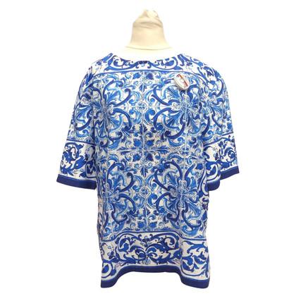 Dolce & Gabbana Katoenen shirt met print