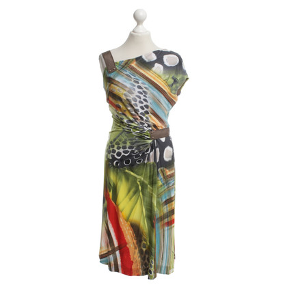 Escada Kleid in Multicolor