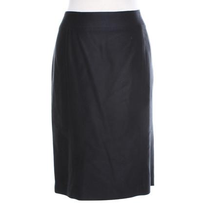 Joseph skirt in dark blue
