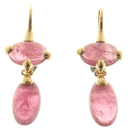 Pomellato Earrings in rose / gold